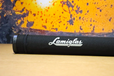 Lamiglas Travel Rod Tube | Silver Embroidery