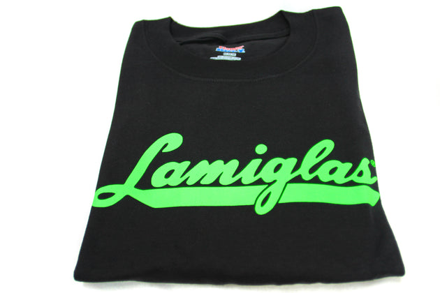 Lamiglas Black w/ Green Logo T-Shirt