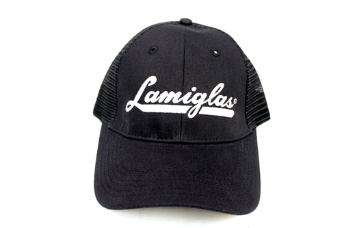Lamiglas Black w/ Grey Logo Mesh Hat