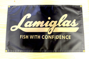 "Classic Lamiglas ""Fish With Confidence"" Banner"