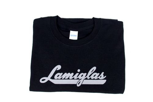 Lamiglas Black w/ Grey Logo T-Shirt