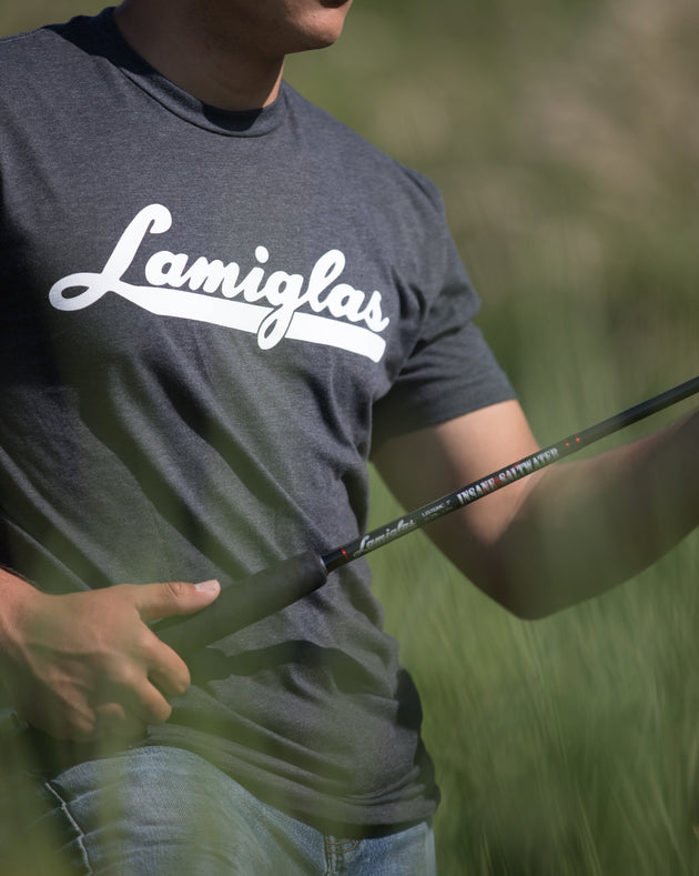 Lamiglas Anglers Comfort T-Shirt | Dark Heather