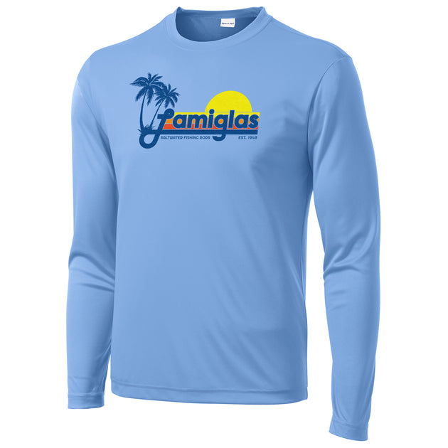 Lamiglas Retro Salt Blue Performance Long Sleeve