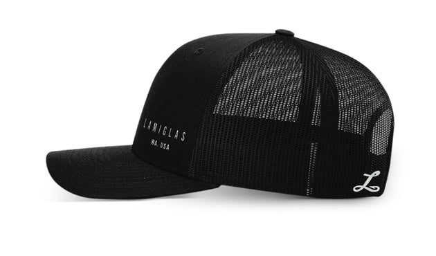 Lamiglas Buy Local Snapback Trucker Hat