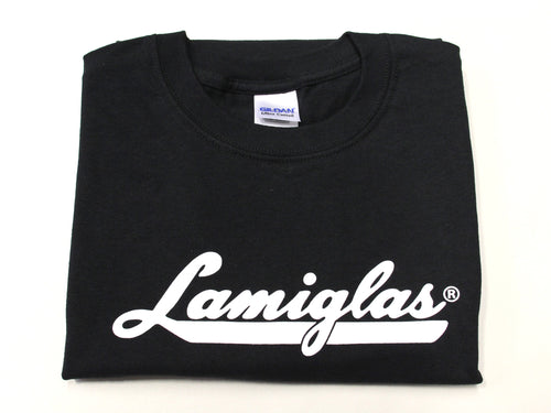 Lamiglas Black w/ White Logo T-Shirt