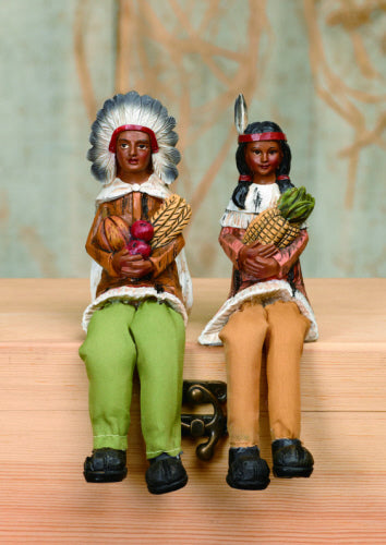 Indian Couple Shelf Sitter