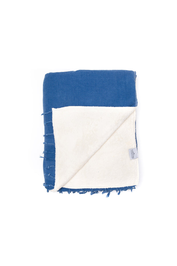 The Shore Washed Waffle Throw Series