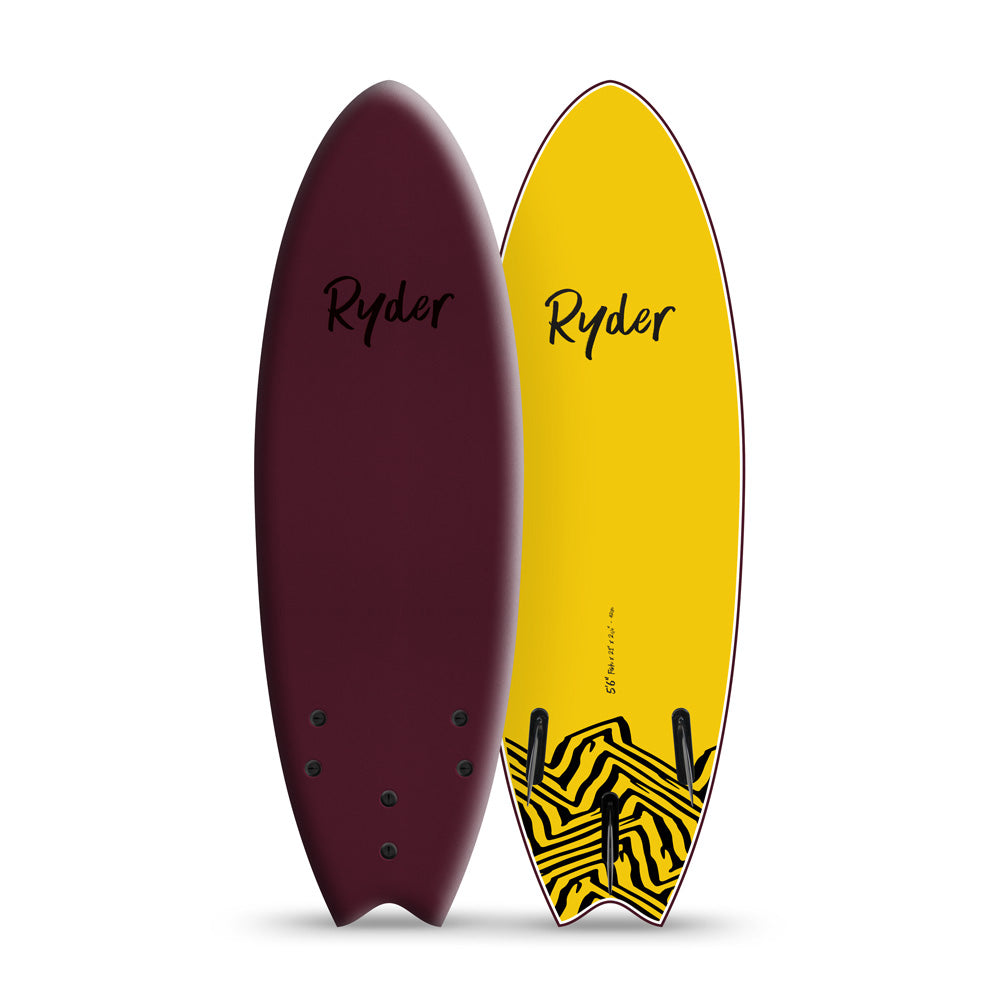 Fish Series | 5ft6in - Stout - Ryder Soft Surfboards