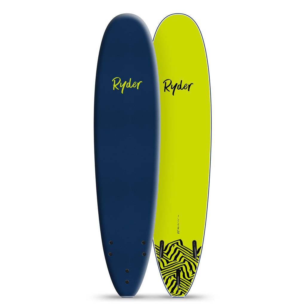 Mal Series | 8ft - Midnight Blue - Ryder Soft Surfboards