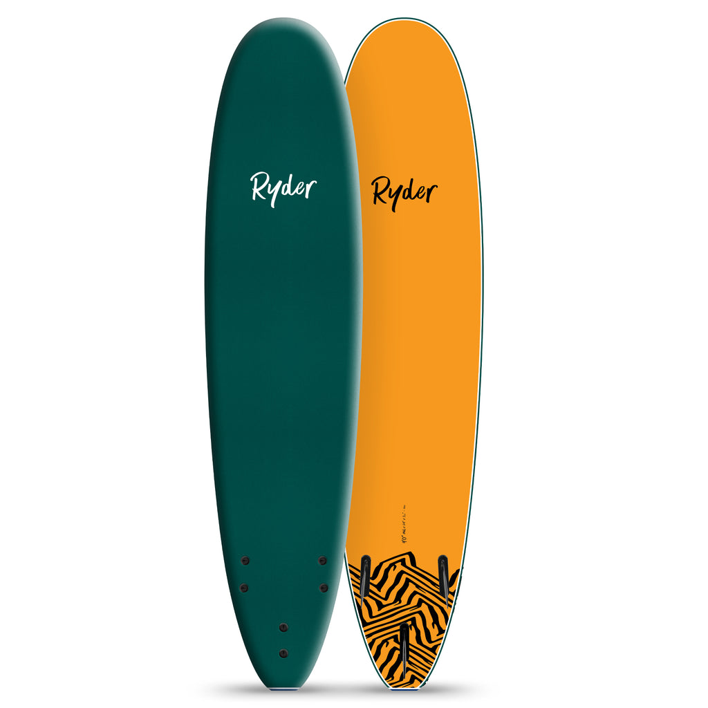 Mal Series | 9ft - Mallard Green - Ryder Soft Surfboards