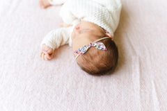 Newborn Mini Knot Bows + Gift Subscription