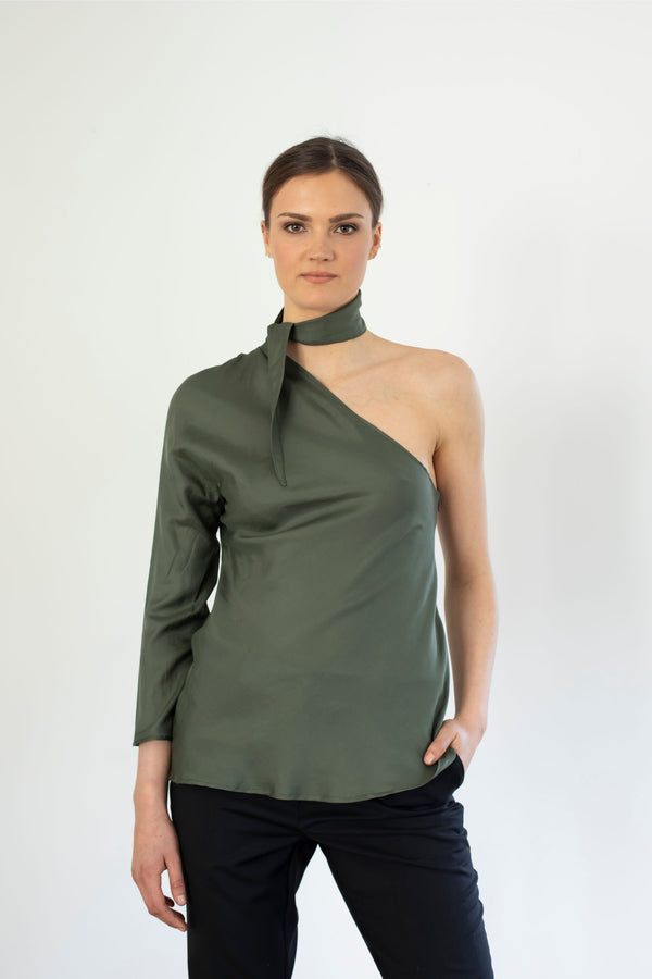 The One Blouse Sample, Khaki or Nude