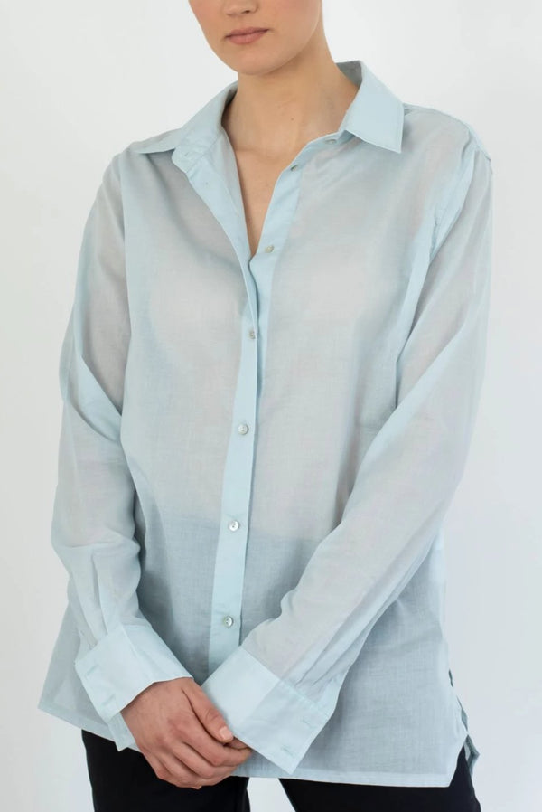 Le Boy Shirt | Powder Blue