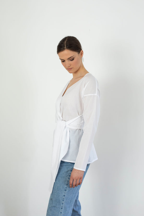 Obia Top | White