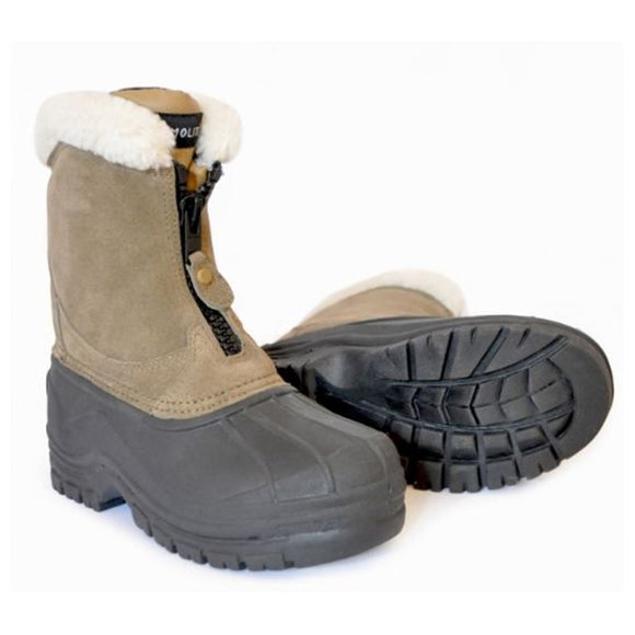 Saddlecraft Fleece Lined Zip Yard Boots