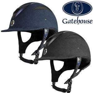 Gatehouse Conquest MKII Crystal Suedette Riding Hat