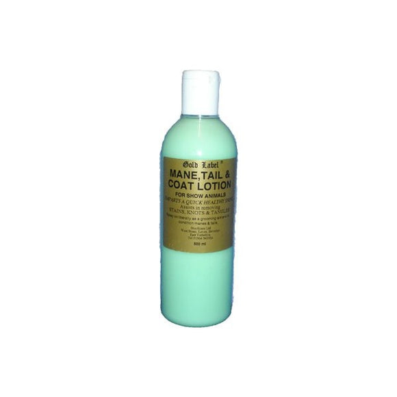 Gold Label Mane, Coat & Tail Shampoo/Conditioner - 500ml