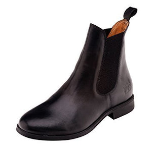 Harry Hall Silvio Child Leather Jodhpur Boot