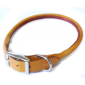 ANCOL TAN ROLLED 55CM COLLAR