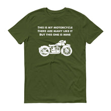This is My Motorcycle Short-Sleeve T-Shirt
