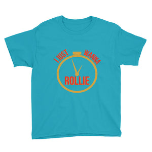 I Just Wanna Rollie With Logo 2 Youth Short Sleeve T-Shirt