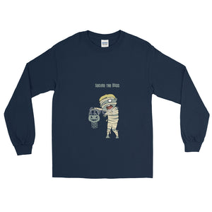 Kid Mummy Secure the Bagg Long Sleeve T-Shirt