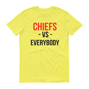 Kansas City Chiefs Vs. Everybody Short-Sleeve T-Shirt
