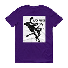 Black Power Panther Short-Sleeve T-Shirt
