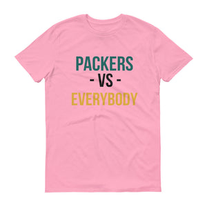 The Green Bay Packers Vs. Everybody Short-Sleeve T-Shirt