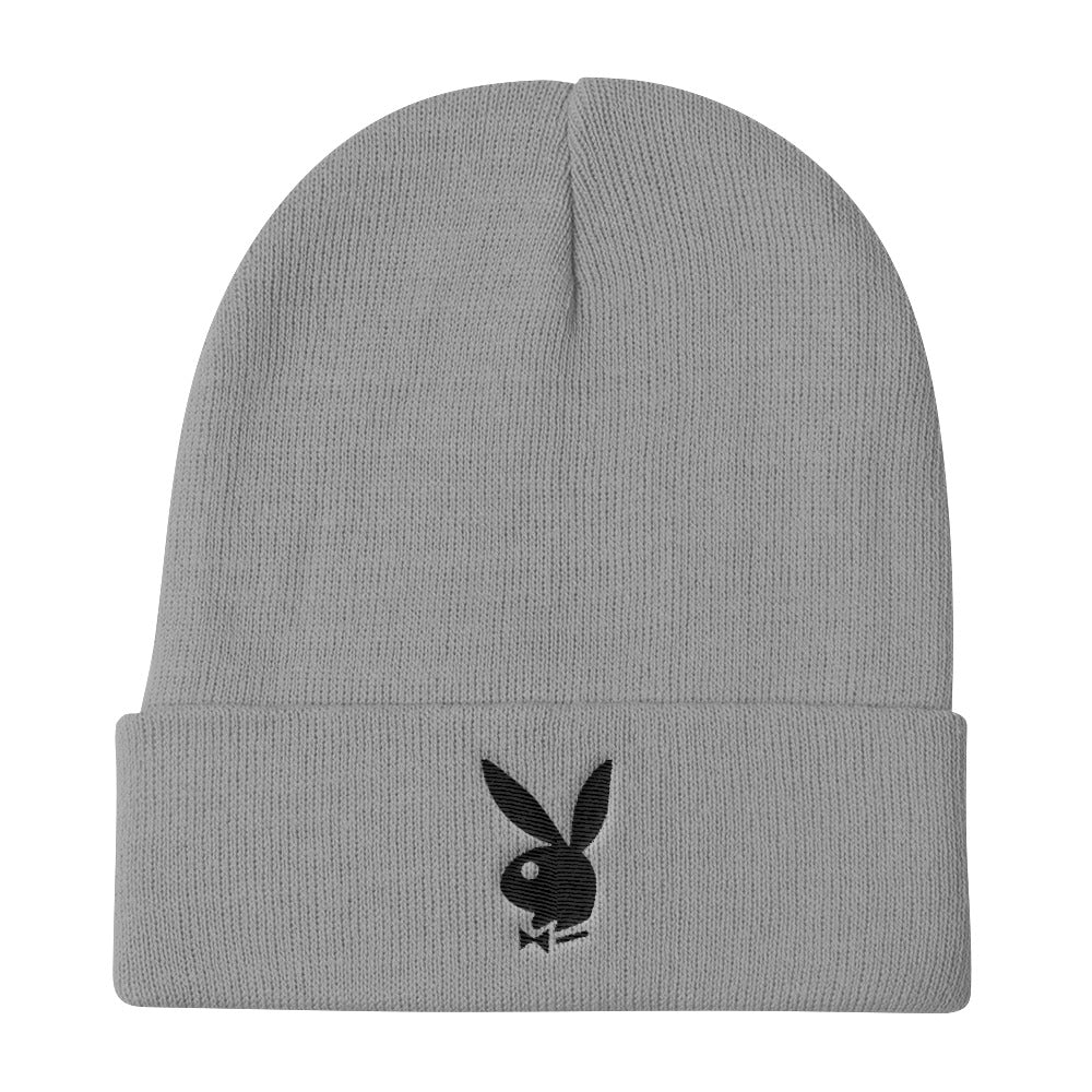 Playboy Magazine Logo Knit Beanie
