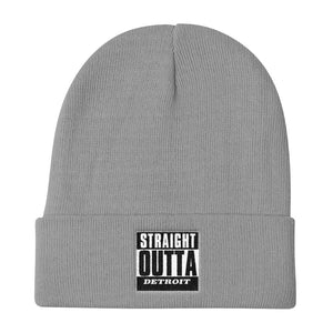 Straight Outta Detroit Knit Beanie
