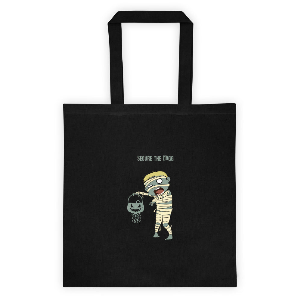 Mummy Halloween Secure the Tote bag