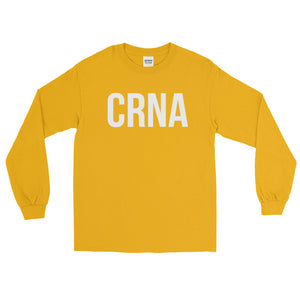 CRNA Certified Registered Nurse Anesthetist Long Sleeve T-Shirt