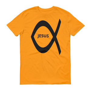 Jesus Christian Fish Short-Sleeve T-Shirt