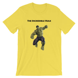 Short-Sleeve The Incredible Hulk Unisex T-Shirt