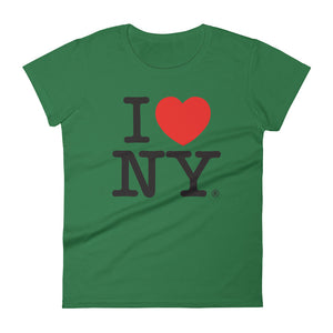 I Love NY Women's short sleeve t-shirt