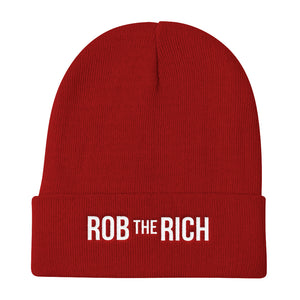 ROB the RICH Knit Beanie