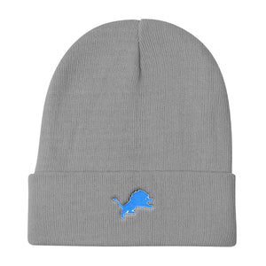 Lions Knit Beanie