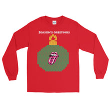 Limited Edition Stones Season's Greetings Long Sleeve Ugly Christmas T-Shirt