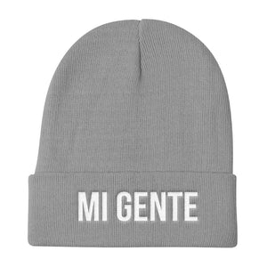 Mi Gente My People Knit Beanie