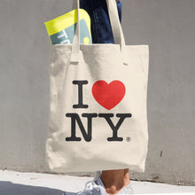 I Love NY Cotton Tote Bag