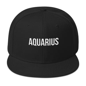 AQUARIUS Snapback Hat