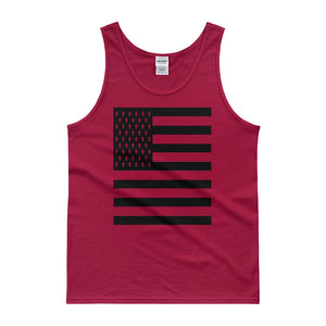 Black American Flag Tank top
