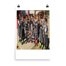 Cheetahs SC  2017 Champions Photo paper poster