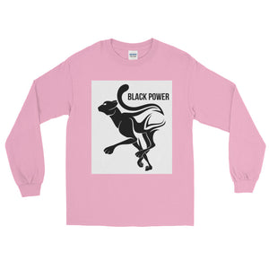 Black Power Panther Long Sleeve T-Shirt