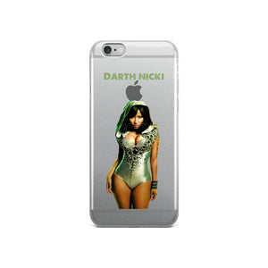 Darth Nicki iPhone Case