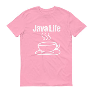 Java Life Coffee Lover Short-Sleeve T-Shirt