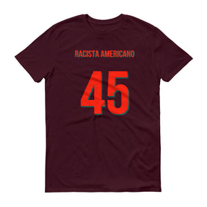 American Racist In Spanish Short-Sleeve T-Shirt