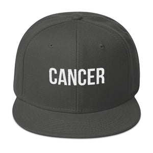 CANCER Snapback Hat