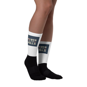 Power To The Polls Socks